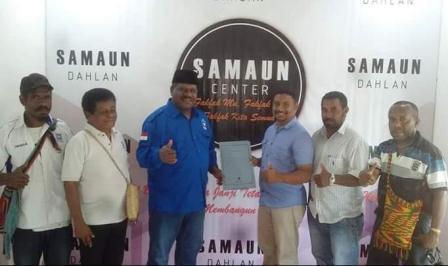 Ketua DPD PAN Cliford Ndandarmana Pastikan Dampingi Samaun di Pilkada Fakfak 2020