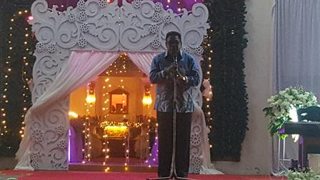 Open House Natal 2019 Paroki St. Yosep Fakfak, Begini Pesan Natal Bupati Mohammad Uswanas