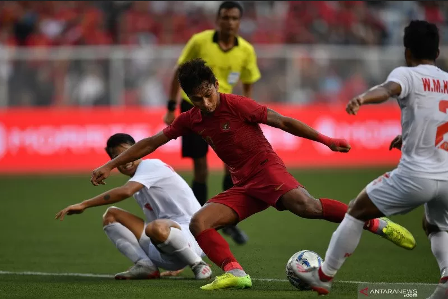 Gol Osvaldos Haay dan Evan Dimas Antar Indonesia ke Final SEA Games