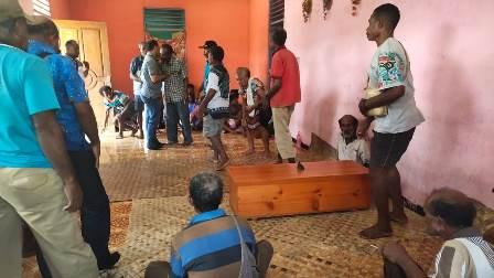 Jenasasah Amos Hirietrenggi, Korban 1 Desember di Fakfak Diserahkan Ke Keluarga di Sanbut Linangan Air Mata