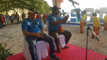 "Louncing Taman #SADAR, Samaun – Cliford Siap Lawan ""Si Koko"" di Pilkada Fakfak 2020"