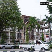 Pembangunan Masjid Raya Al Akbar Kota Sorong
