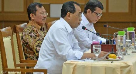 Menhub-Menkes-Menpar Bahas Pencegahan Virus Corona di Indonesia