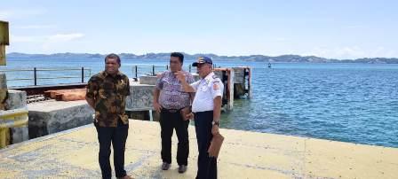 Tidak Difungsikan 7 Tahun, Komisi III DPRD Fakfak Tinjau Pelabuhan ASDP Tanjung Udang