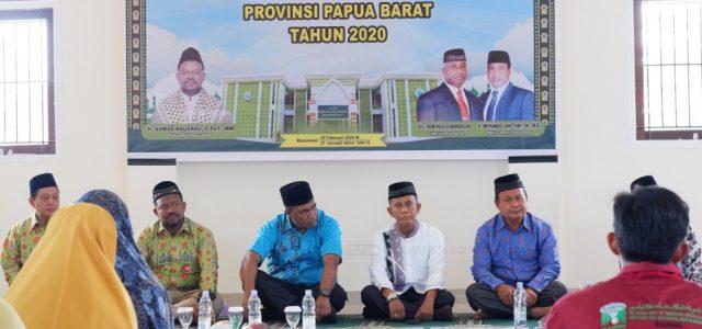 Wagub Papua Barat dan Sekda Manokwari Hadiri Tasyakuran Kantor MUI Papua Barat