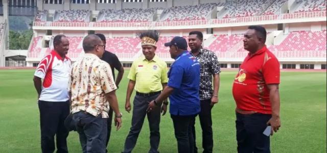 Menpora Menawarkan Stadion Papua Bangkit Untuk Event Internasioanl