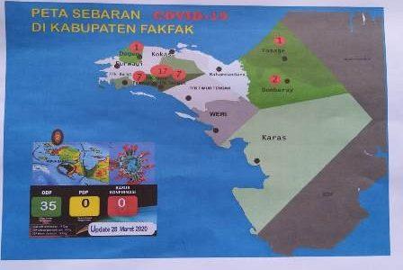 Satgas Covid -19 Fakfak, Rilis Data Terbaru 35 ODP, Distrik Fakfak 17 ODP, Fakfak Tengah 7 dan Pariwari 7