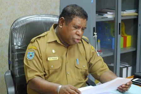 """Cegah Covid -19, Ali Baham Warning ODP di Fakfak, """"Jangan Bandel Dari Pada Masuk Karantina Khusus"""""""