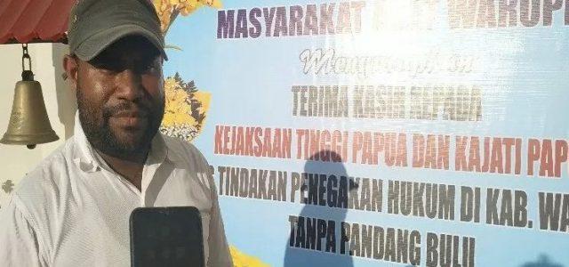 Masyarakat Waropen Datangi Kejati dan Polda Papua, Nyatakan Dukungan