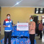 Pertamina Bantuan Pencegahan COVID 19 Melalui 3 Puskesmas di Ambon