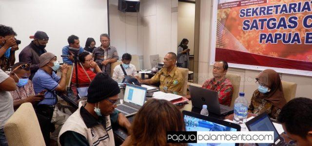 Terbaru Kasus COVID-19 di Papua Barat: ODP Merata di 6 Kabupaten-Kota