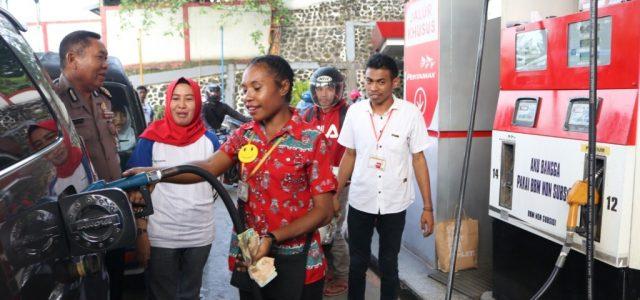 Penyaluran Bahan Bakar Khusus Wilayah Maluku Papua Meningkat di Awal 2020, Pertamax Catat Kenaikan Tertinggi