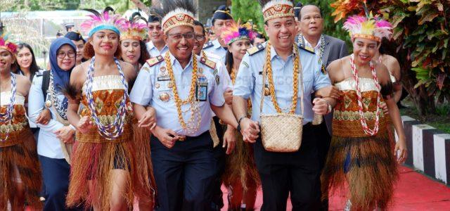 Delapan Satker di Kementerian Hukum dan HAM Papua Barat Diusulkan Peroleh WBK dan WBBM