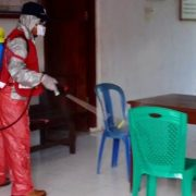 Semprot Desinfektan, Masyarakat Apresiasi Langkah PMI – NasDem