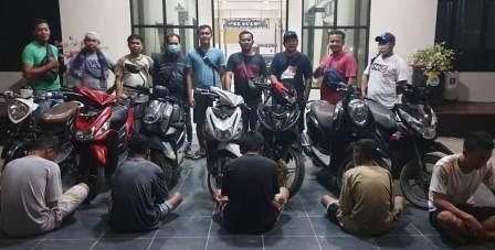 Polisi Tangkap Empat Pelaku Spesial Curanmor di Kabupaten Sorong