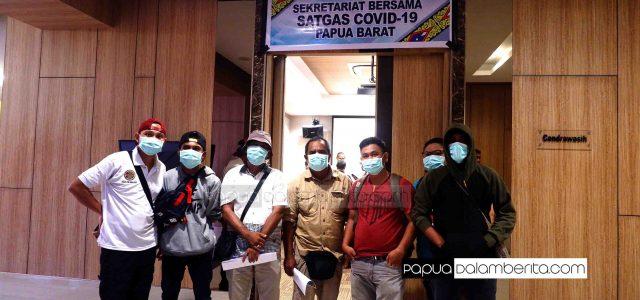 Gugus Tugas Papua Barat: Warga Pakai Masker, Bantu Putus Mata Rantai Penularan COVID-19