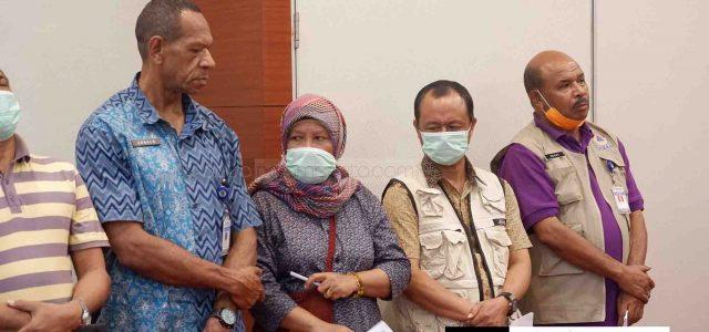 Gugus Tugas Telusuri Orang yang Sebar Nama Pasien Corona Papua Barat di Media Sosial