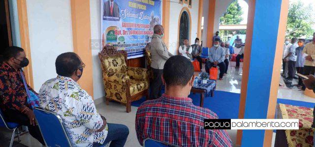 Ketua Umum Gugus Tugas Pesan Umat Muslim Doakan Papua Barat Terhindari dari COVID-19