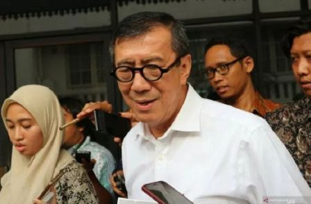 Menkumham Bantah Loloskan Nara Pidana Korupsi
