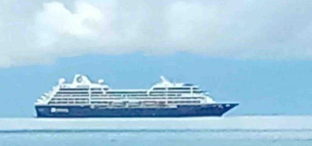 Kapal Pesiar Misterius Melintas Hebohkan Warga Raja Ampat Papua Barat