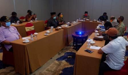 DPR Papua Barat Temui Gugus Tugas Covid 19