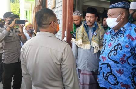 DMI Papua Barat, MUI dan Polres Sambanggi Masjid, Pengurus Masjid Terima Tak Gelar Sholat Berjama'a