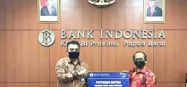 Bank Indonesia Gandeng Keuskupan Manokwari-Sorong Salurkan Bantuan Alkes dan Bama di Manokwari