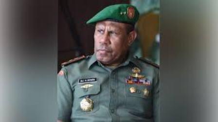 Mayjen TNI AD. Ali Hamdan Bogra, Putra Kaimana Pulang Kampung Jabat Pangdam XVIII/Kasuari