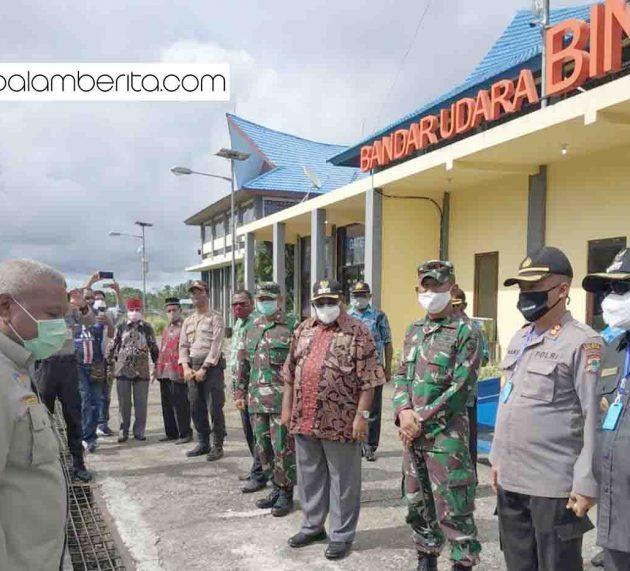Rombongan Gubernur Papua Barat Jalani Protokoler Kesehatan