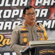 Kapolda, Jelang Pilkada Intensitas Politik Potensi Rawannya Keamanan di Papua Barat