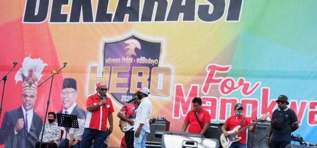 Persiapan Deklarasi HEBO For Manokwari