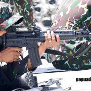 Ini Hasil Lomba Menembak Antar TNI-Polri di Manokwari