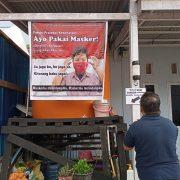 Cegah Penyebaran Covid-19, Ini Langkah Ketua RT 07 Kelurahan Klamana Kota Sorong