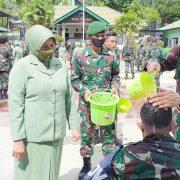 58 Personel, Perwira, Bintara dan Tamtama Kodim 1801 Manokwari Naik Pangkat