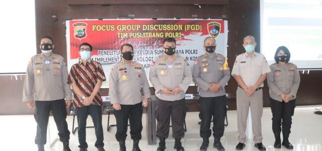 Tim Puslitbang Polri Gelar FGD di Papua Barat