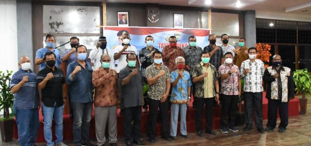 Kapolda Papua Barat Tatap Muka Bersama Tokoh di Kaimana