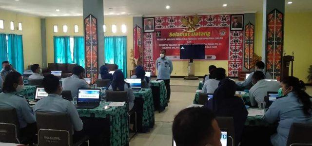 Kemenkumham Papua Barat Gelar Seleksi Kenaikan Pangkat Berbasis Computer