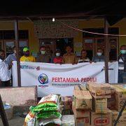 Pertamina Sigap Banjir di Halmahera Utara