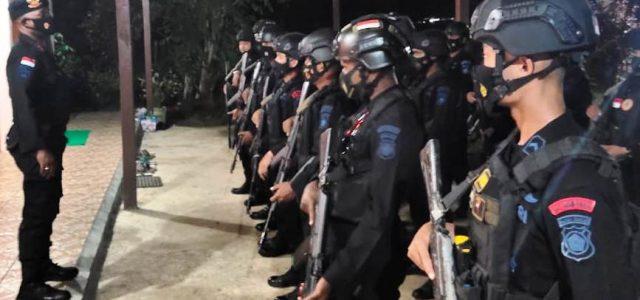 Sat Brimob Polda Papua Barat Tetap Siaga