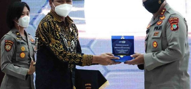 11 Satuan Kerja Polda Papua Barat Raih 16 Penghargaan dari KPPN Manokwari