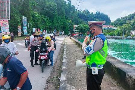 Antisipasi Ancaman Teror Pasca Bom Katederal Makasar, Polres Fakfak Gelar Razia