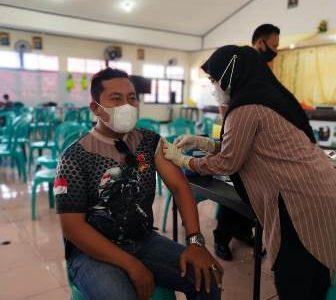 Sabtu Kemarin 61 Anggota Polres Fakfak Jalani Vaksinasi Covid -19, Total Sudah Divaksinasi 260 Anggota