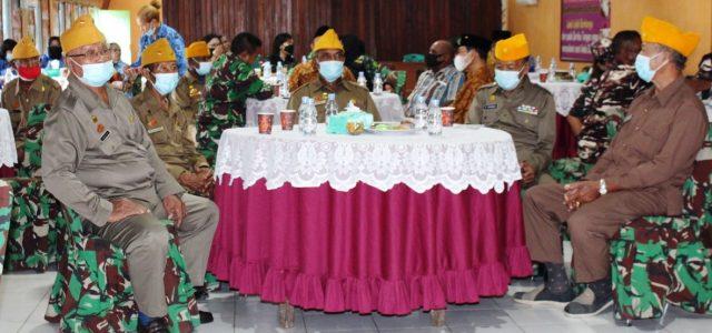 Kodim Manokwari Silaturahmi dengan Keluarga TNI