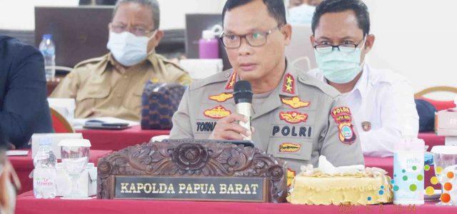 Bintara Polri dan TNI Afirmasi Otsus Jadi Perhatian RDP Pansus Otsus DPR RI Bersama Gubernur