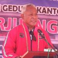 PDIP Papua Barat Akan Miliki Kantor Berlantai Dua, Komarudin Watubun Pesan Begini