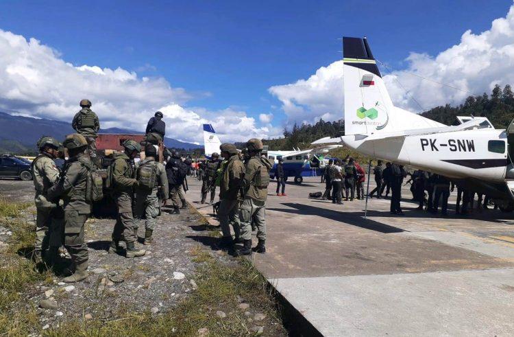 Pasukan Tiba di Ilaga, Kapolri Perintahkan Jajaran Amankan KKB Papua