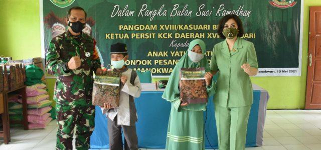 Pesan Pangdam Kasuari di Pondok Pesantren Hidayatullah: Jangan Putus Harapan, Tetap Optimis Songsong Masa Depan