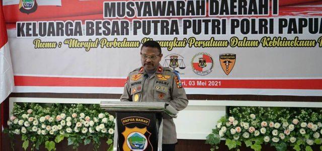 Keluarga Besar Putra Putri Polri Papua Barat Pengembang Misi Binmas Polri