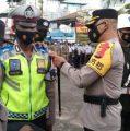 Kapolres Fakfak Pimpin Apel Gelar Pasukan Oprasi Ketupat Mansinam 2021