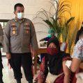 328 Warga Prafi dan Masni Ikut Vaksinasi yang Digelar Polres Manokwari Sambut HUT Ke-75 Bhayangkara 2021